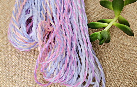Varieties of raw materials used in the special yarns are also wide
